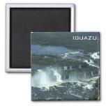 Iguazu falls - Aerial view 2 Inch Square Magnet