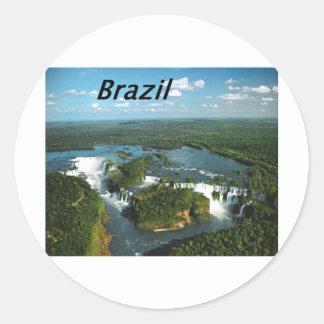 Iguazu-Falls-Argentina-and-Brazil-.JPG Classic Round Sticker