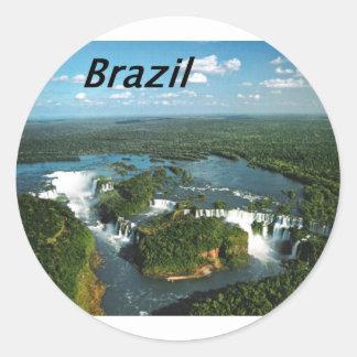 Iguazu-Falls-Argentina-and-Brazil-.JPG Pegatina Redonda