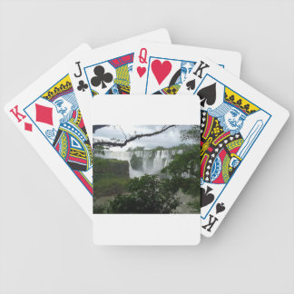 Iguazu Falls Argentina Bicycle Playing Cards