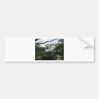 Iguazu Falls Argentina Bumper Sticker