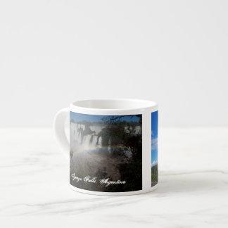 Iguazu Falls Argentina Espresso Mug 6 Oz Ceramic Espresso Cup
