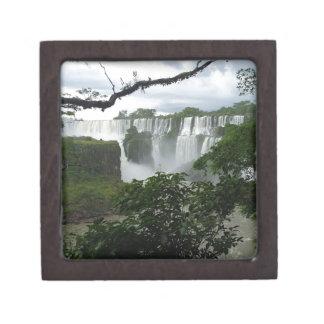 Iguazu Falls Argentina Jewelry Box