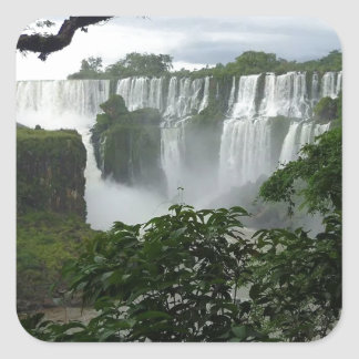 Iguazu Falls Argentina Square Sticker