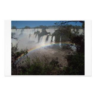 Iguazu Falls Argentina Stationery