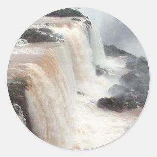 Iguazu Falls Brazil / Argentina Classic Round Sticker