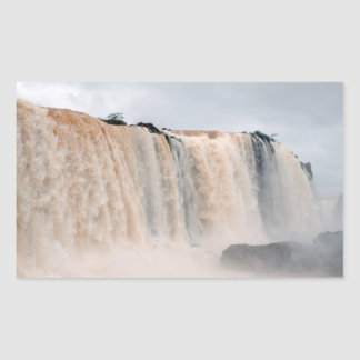 Iguazu Falls Brazil / Argentina Rectangular Sticker