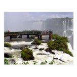 Iguazu Falls, Brazil Postcard