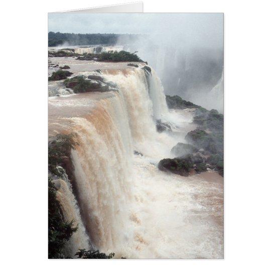 iguazu falls Brazill Card