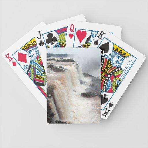 iguazu falls Brazill Card Deck