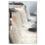 iguazu falls Brazill Dry Erase Whiteboard