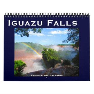 iguazu falls calendar