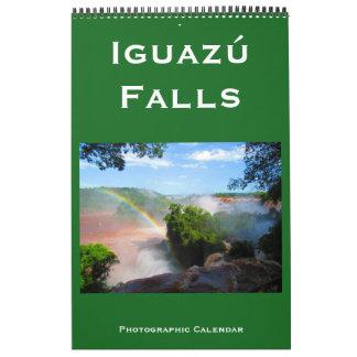 iguazú falls calendar