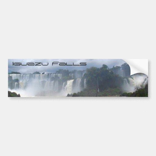 Iguazu Falls Car Bumper Sticker