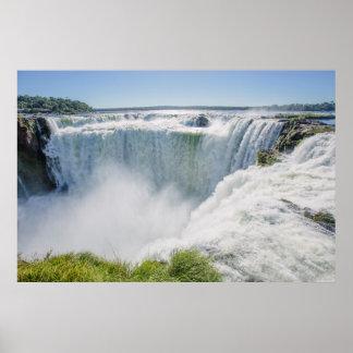 Iguazu Falls, Devil'S Throat, Argentina Poster