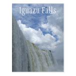 Iguazu Falls, Iguazu River, Argentina, Brazil Post Card