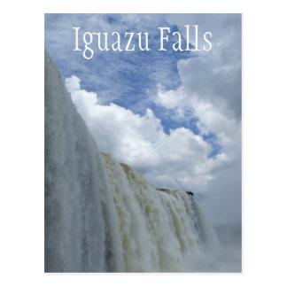 Iguazu Falls Iguazu River Argentina Brazil Post Card
