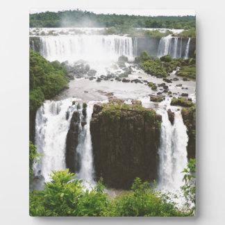 Iguazu Falls Plaque