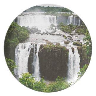 Iguazu Falls Plate