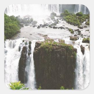 Iguazu Falls Square Sticker