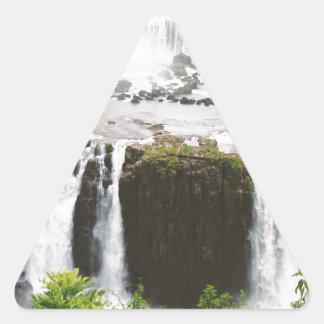 Iguazu Falls Triangle Sticker