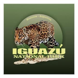 Iguazu NP (jaguar) WT Poster