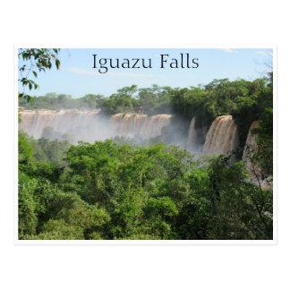 iguazu vista postcard