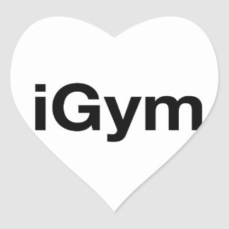 iGym Heart Sticker
