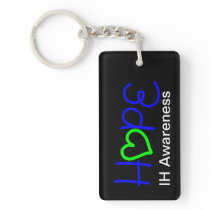 IH Awareness Hope Heart Acrylic Keychain