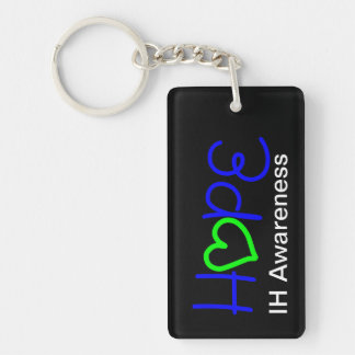 IH Awareness Hope Heart Acrylic Keychain