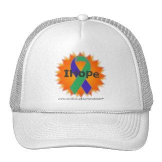 IH Fire Ribbon White Cap * IH * Trucker Hats