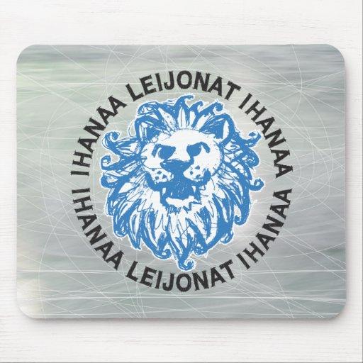 Ihanaa Leijonat Ihanaa Ice Mouse Pad