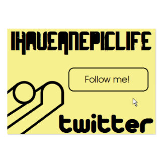 iHaveAnepicLife Stickie edition Business Card