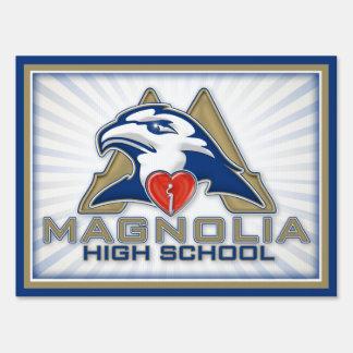 iheart Magnolia High School Lawn Sign