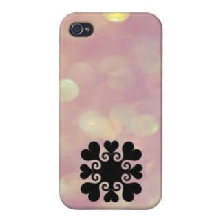 iHeart Pink iPhone 4 Case