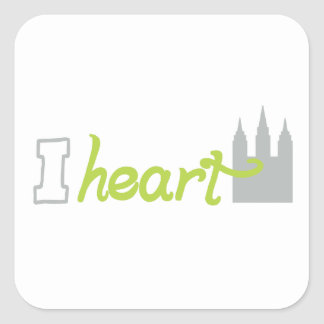 iheart the temple stickers