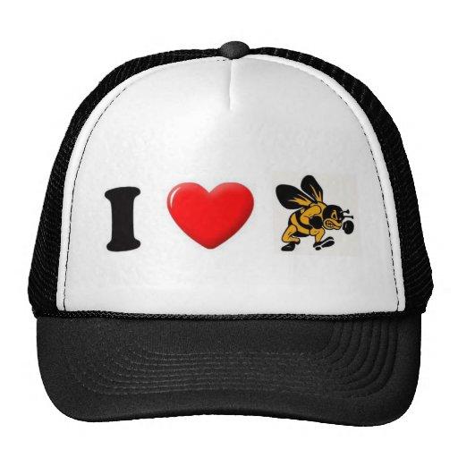 ihearthornets trucker hat