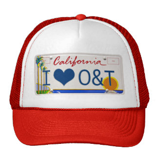IheartO&TPLATE Hats