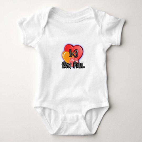 IheartRonPaul Baby Bodysuit