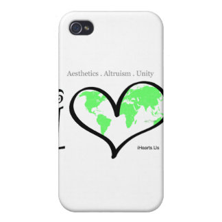 iHearts Us Covers For iPhone 4