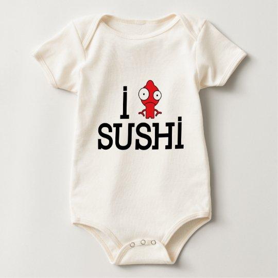 iheartsushi baby bodysuit