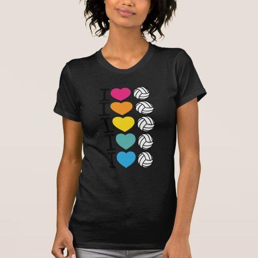iheartvolleyball camiseta