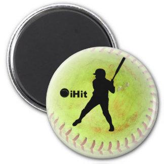 iHit Fastpitch Softball Magnet