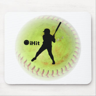 iHit Fastpitch Softball Mouse Pad