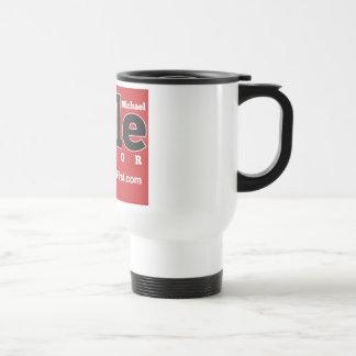 Ihle para alcalde Travel Mug Taza De Café