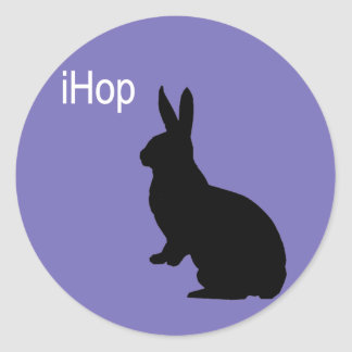 iHop Easter Bunny Classic Round Sticker