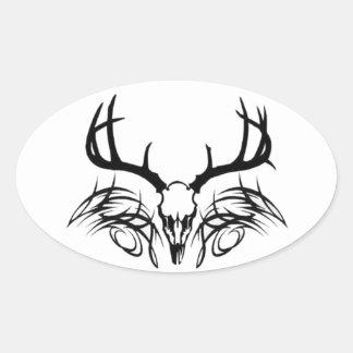 iHUNT Oval Sticker
