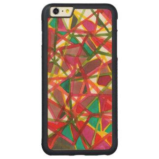II prismático Funda De Arce Bumper Carved® Para iPhone 6 Plus