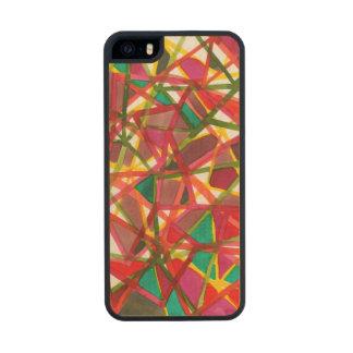 II prismático Funda De Arce Carved® Para iPhone 5 Slim