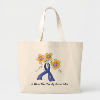 Ii Wear Blue For My Loved One Canvas Bag
